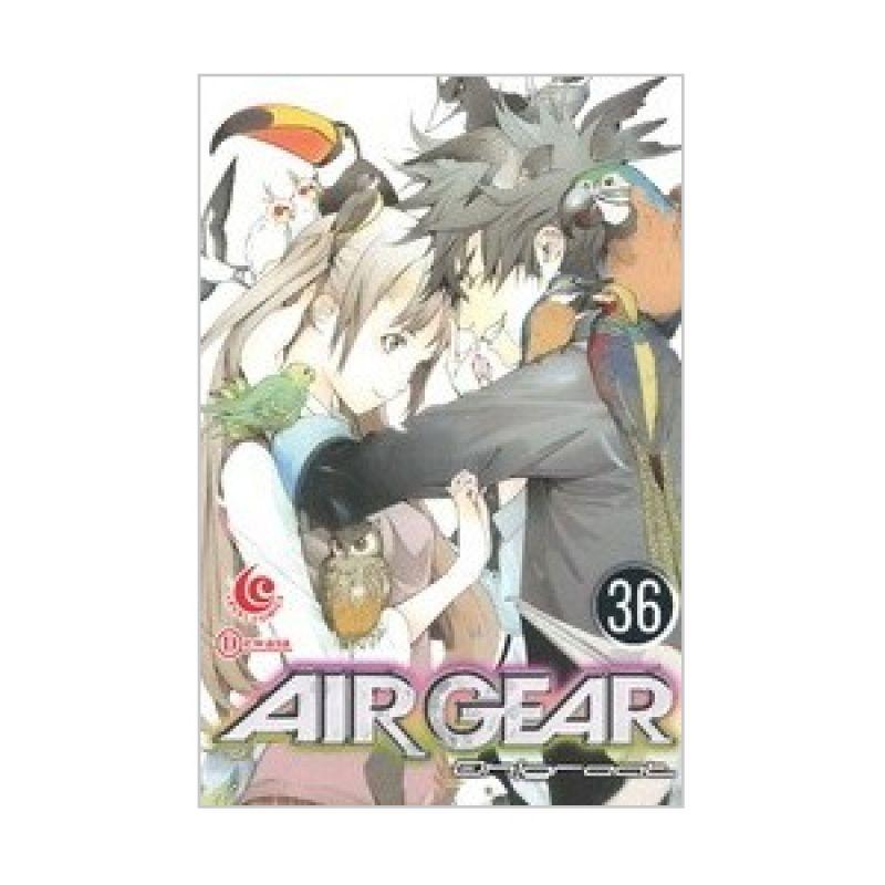 Grazera Airgear Vol 36 by Oh! Great Buku Komik