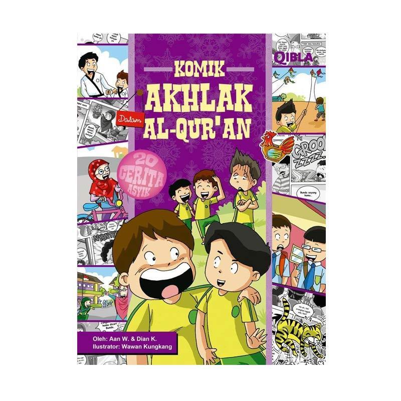 Grazera Akhlak Dalam Al-Quran By Aan Wulandari dan Dian K. Buku Komik