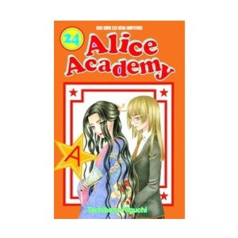 Grazera Alice Academy Vol 24 by Tachibana Higuchi Buku Komik