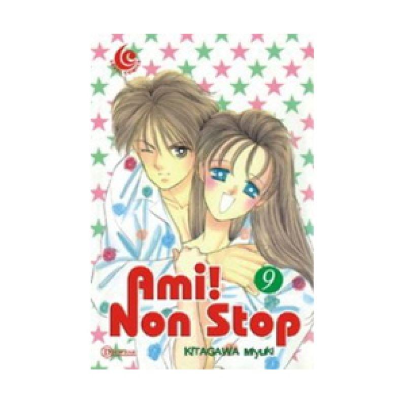 Grazera Ami Non Stop Vol 09 by Kitagawa Miyuki Buku Komik