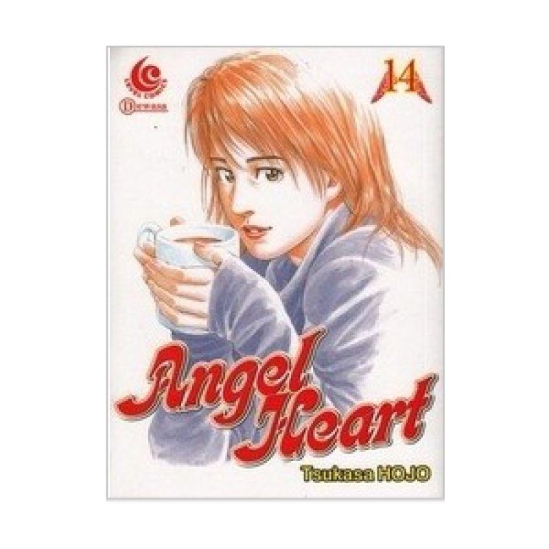 Grazera Angel Heart Vol 14 by Hojo Tsukasa Buku Komik