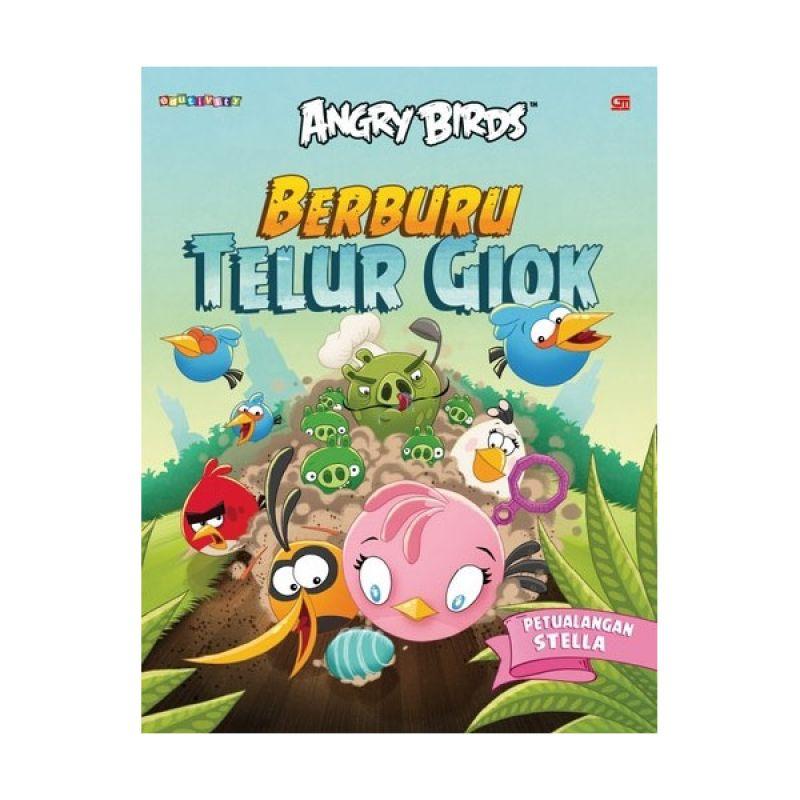 Grazera Angry Birds Berburu Telur Giok By Rovio Buku Anak