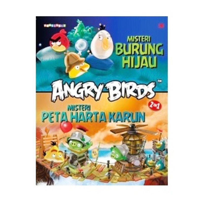 Grazera Angry Birds Mystery 2 in 1 by Rovio Buku Fiksi