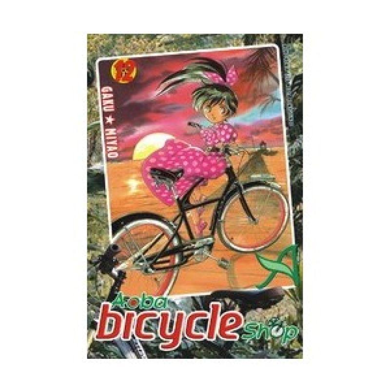 Grazera Aoba Bicycle Shop Vol 12 by Gaku Miyao Buku Komik