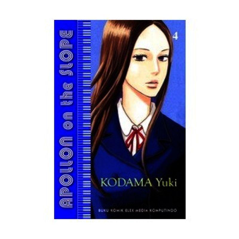 Grazera Apollon on the Slope Vol 04 by Kodama Yuki Buku Komik