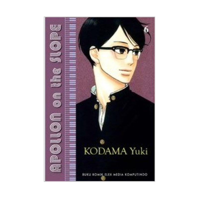 Grazera Apollon On The Slope Vol 06 by Kodama Yuki Buku Komik