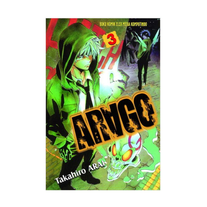 Grazera Arago Vol 03 by Arai Takahiro Buku Komik