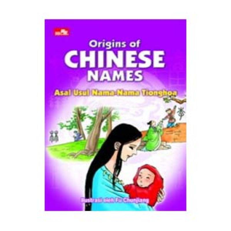 Grazera Asal Usul Nama-nama Tionghoa by Fu Chunjiang Buku Managemen
