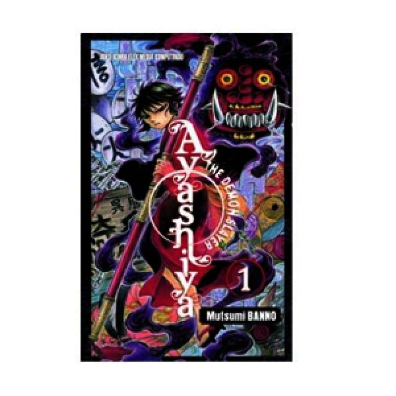 Grazera Ayashiya The Demon Slayer Vol 01 by Mutsumi BANNO Buku Komik