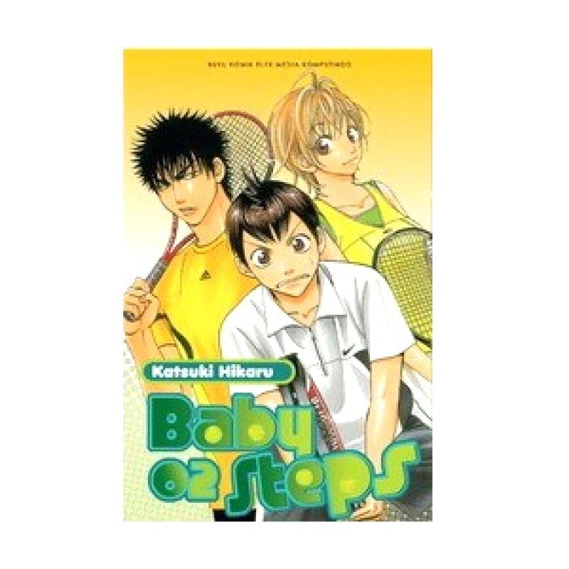 Grazera Baby Steps 02 by Katsuki Hikaru Buku Komik