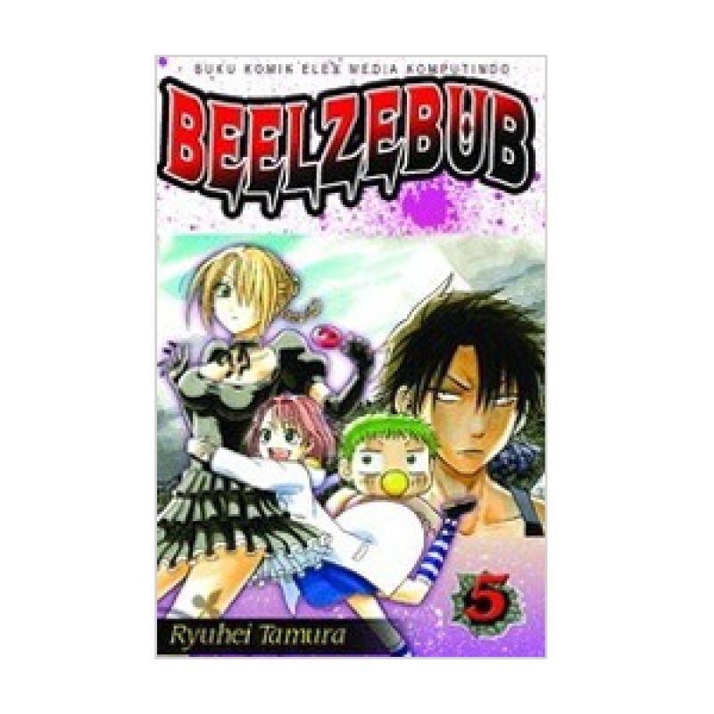 Grazera Beelzebub Vol 05 by Ryuhei Tamura Buku Komik