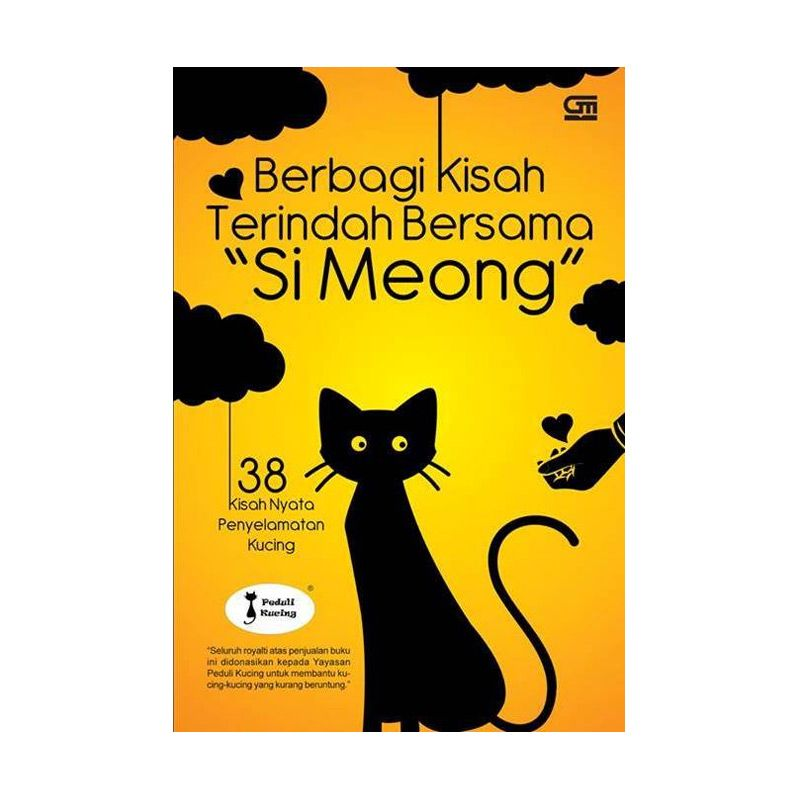 Grazera Berbagi Kisah Terindah Bersama si Meong by Yayasan Peduli Kucing Buku Fiksi