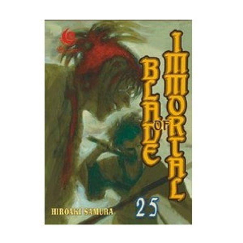 Grazera Blade of Immortal Vol 25 by Hiroaki Samura Buku Komik