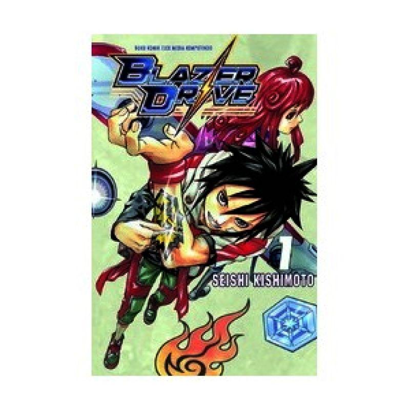 Grazera Blazer Drive Vol 01 by Seishi Kishimoto Buku Komik