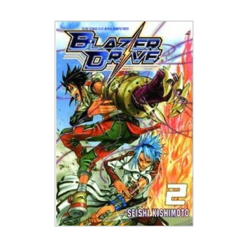 Grazera Blazer Drive Vol 02 by Seishi Kishimoto Buku Komik