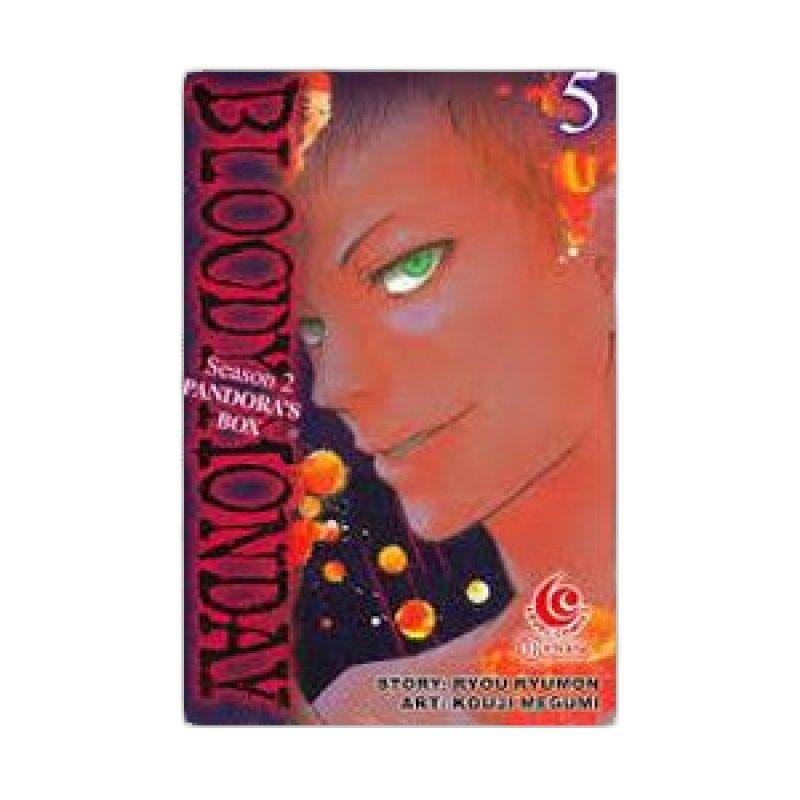 Grazera Bloody Monday Season 2 Vol 05 by Ryo Ryumon Buku Komik