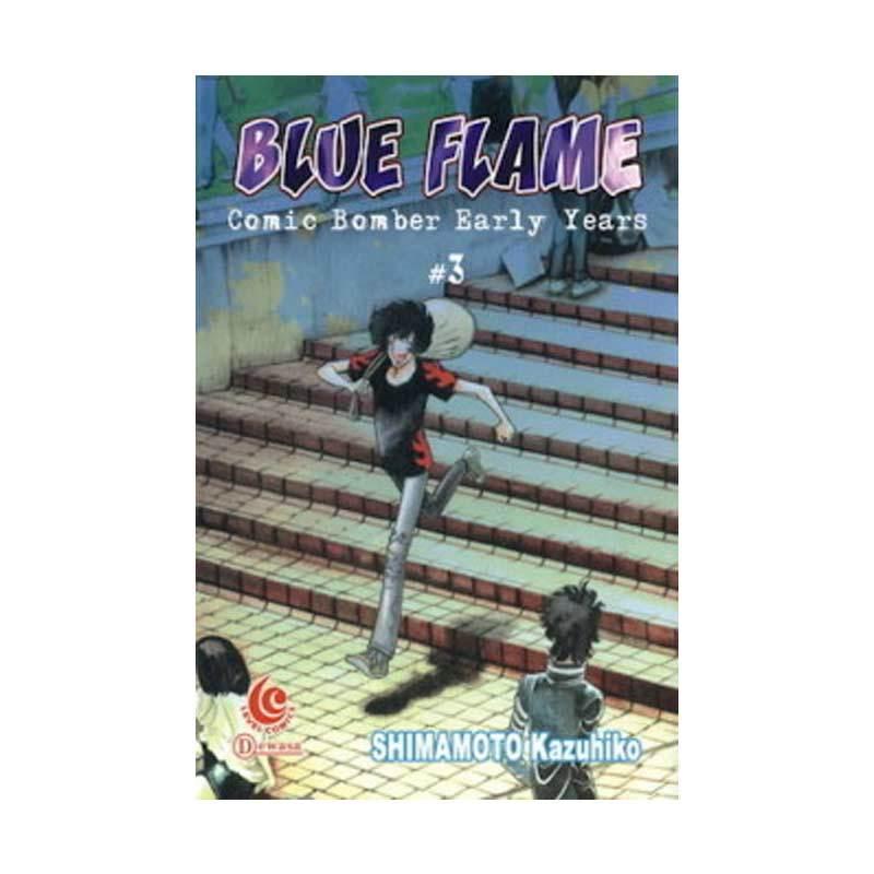 Grazera Blue Flame-Comic Bomber Early Years 3 by Shimamoto Kazuhiko Buku Komik