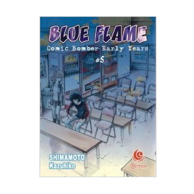Grazera Blue Flame Comic Bomber Early Years Vol 05 by Shimamoto Kazuhiko Buku Komik