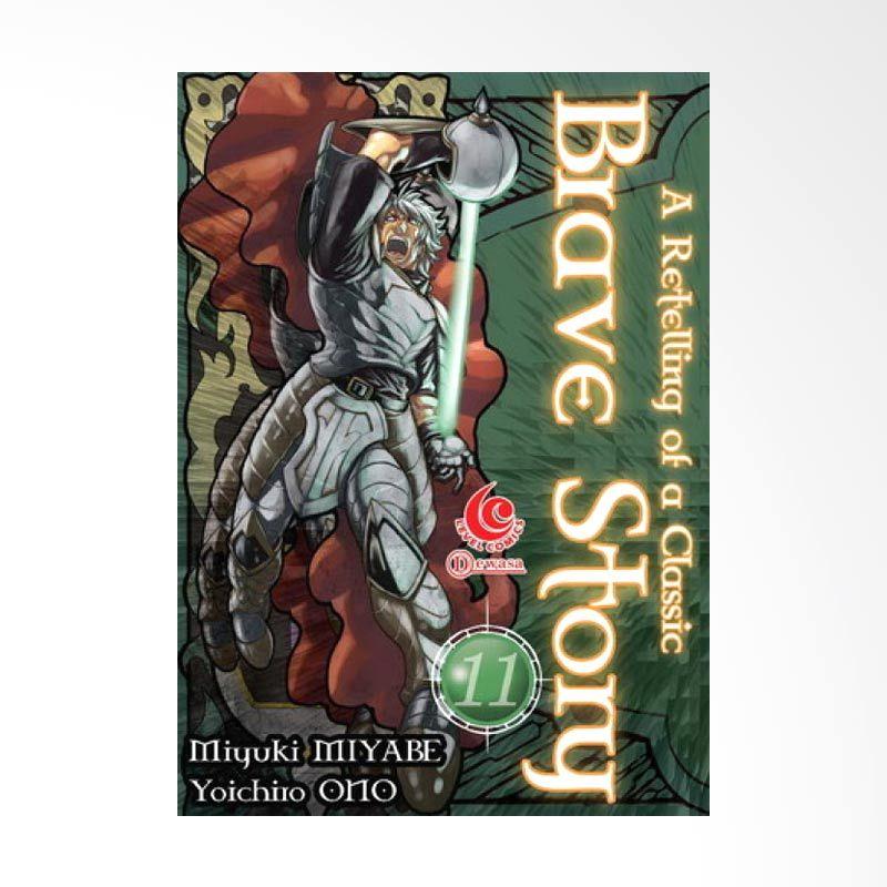 Grazera Brave Story Vol 11 by Miyuki Miyabe Buku Komik