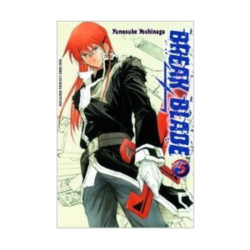 Grazera Break Blade Vol 05 by Yunosuke Yoshinaga Buku Komik
