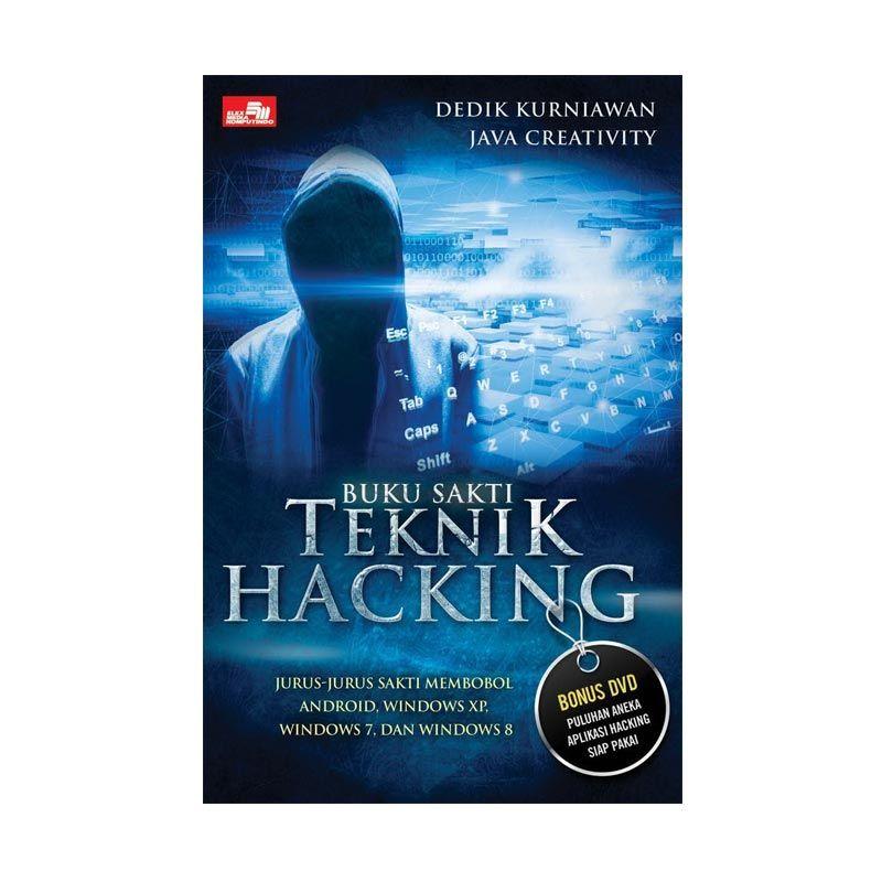 Grazera Buku Sakti Teknik Hacking By Dedik Kurniawan Java Creativity Buku Komputer + DVD