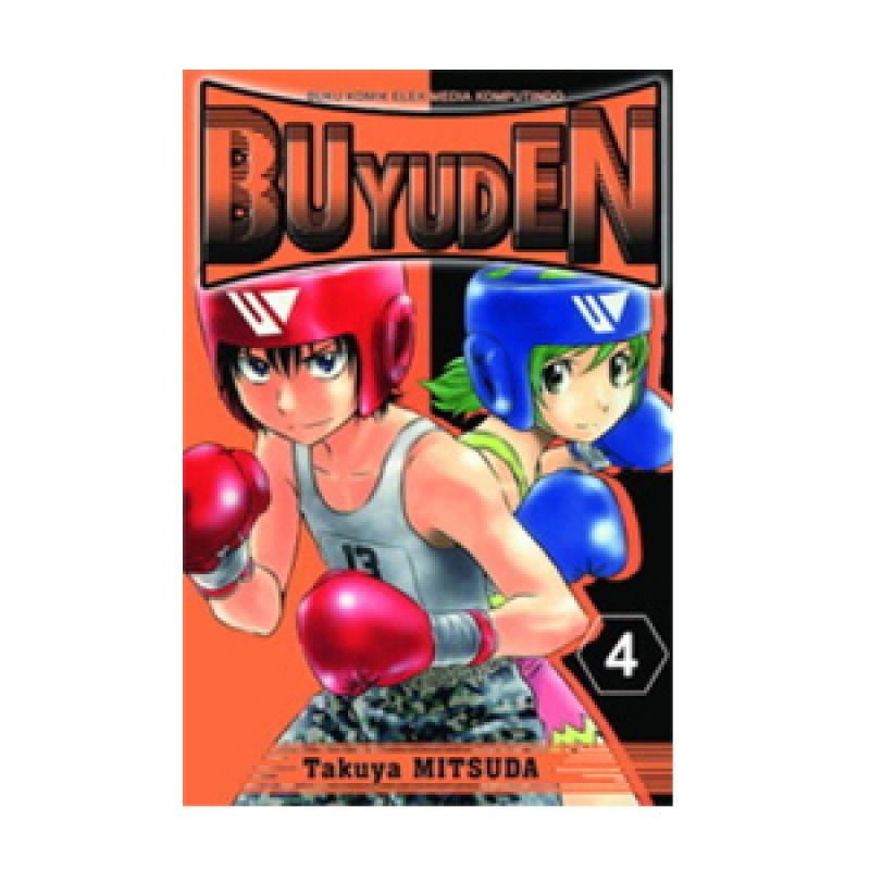 Grazera Buyuden Vol 04 by Takuya Mitsuda Buku Komik
