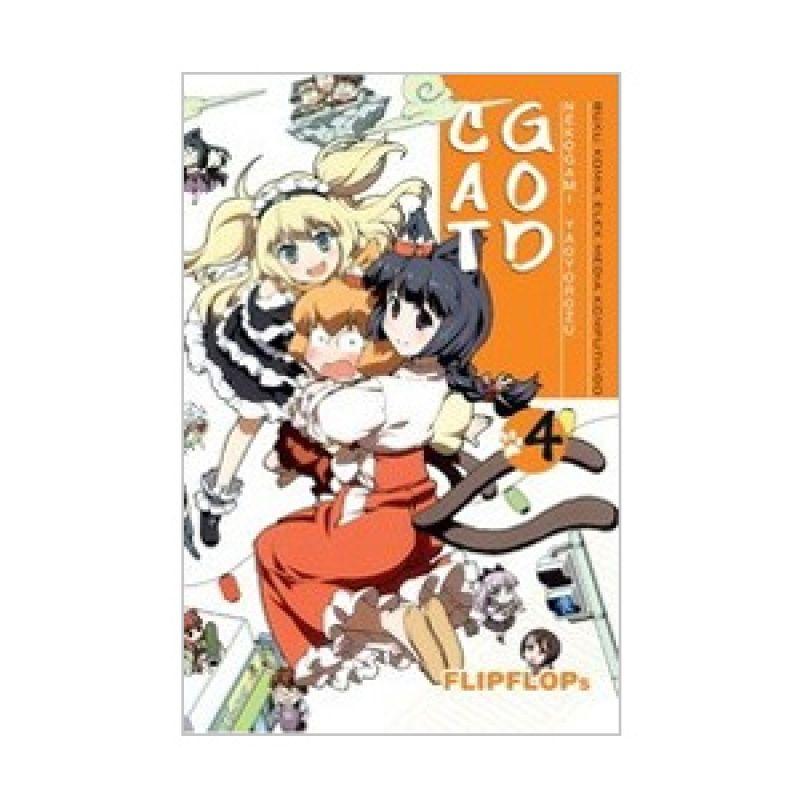 Grazera Cat God Vol 04 by Flipflops Buku Komik