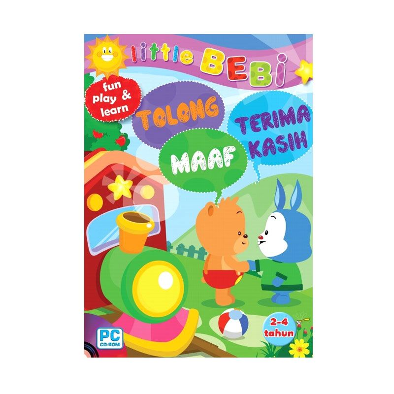 Grazera CD Little Bebi - Tolong Maaf Terima Kasih oleh Tim Eldi Buku Anak