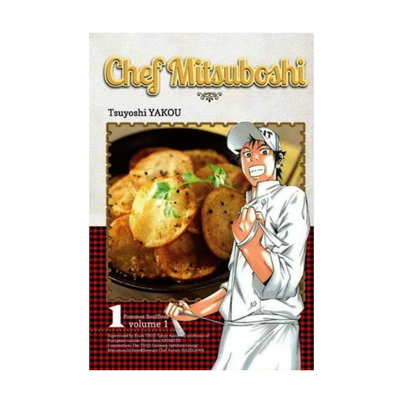 Grazera Chef Mitsuboshi Vol 01 by Tsuyoshi Yakou Buku Komik