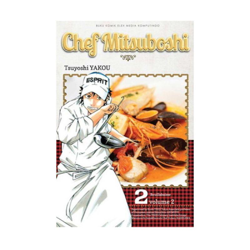 Grazera Chef Mitsuboshi Vol 02 by Tsuyoshi Yakou Buku Komik