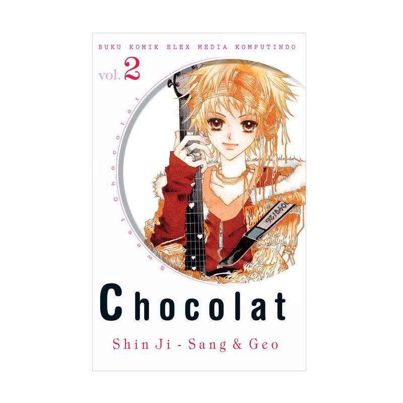 Grazera Chocolat Vol 02 by Shin Ji-Sang & Geo Buku Komik