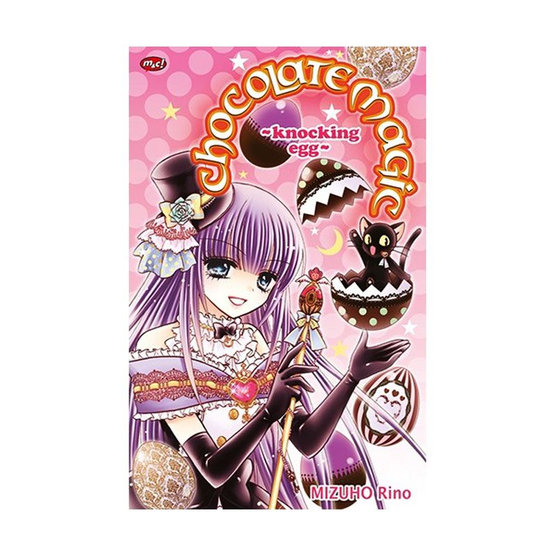 Grazera Chocolate Magic - Knocking Egg by Rino Mizuho Buku Komik