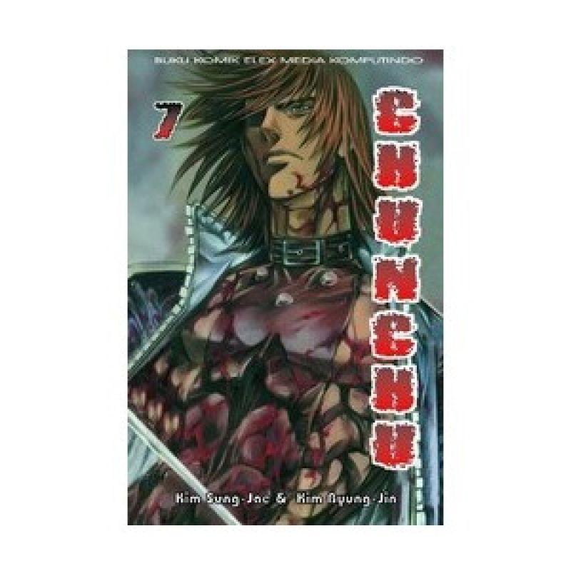 Grazera Chunchu Vol 07 by Kim Sung-Jae Buku Komik