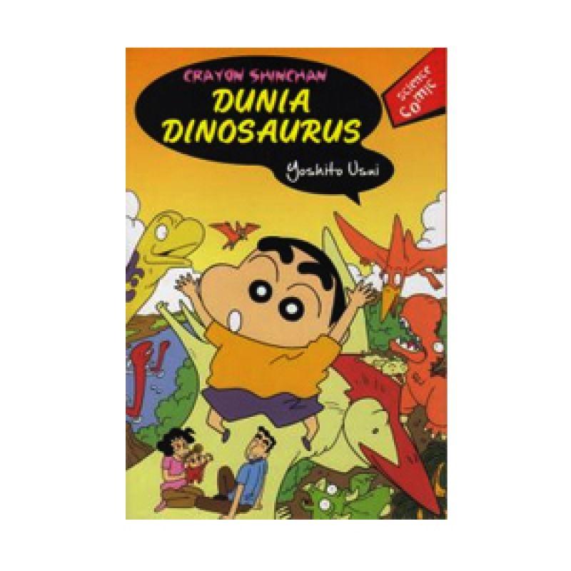 Grazera Crayon Shinchan Dunia Dinosaurus by Usui Yoshito Buku Komik
