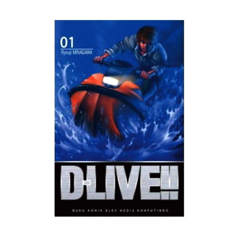 Grazera D-Live! Vol 01 by Ryouji MINAGAWA Buku Komik