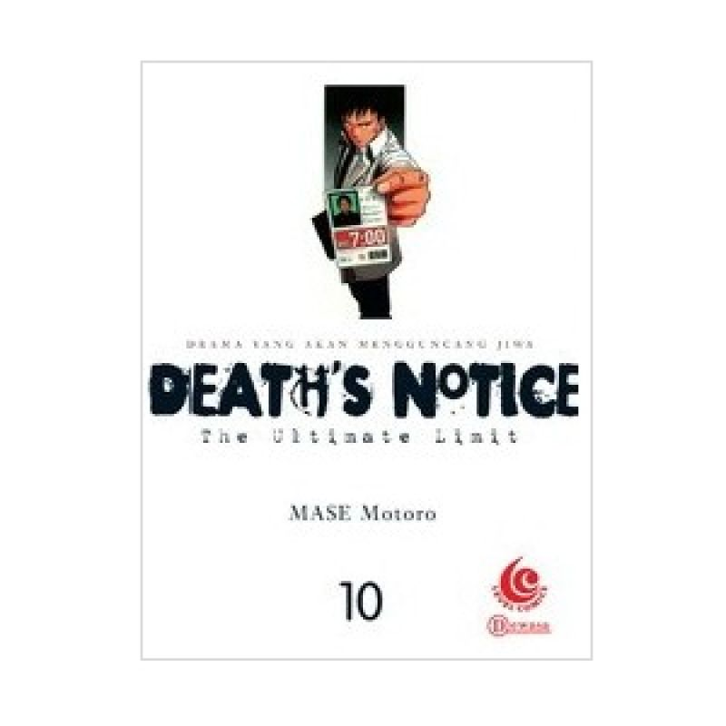 Grazera Deaths Notice Vol 10 by Mase Motoro Buku Komik