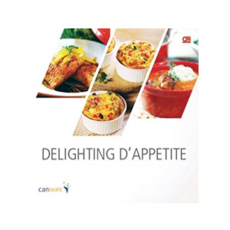Grazera Delighting d'Apetite by CanHope Buku Resep Masakan