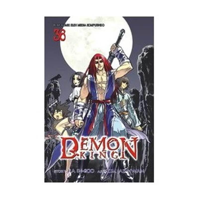 Grazera Demon King Vol 36 by Ra In-Soo Buku Komik