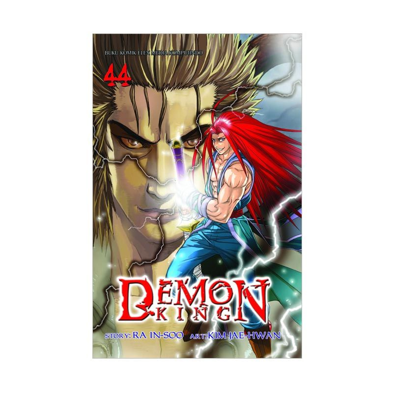 Grazera Demon King Vol. 44 By Ra In-Soo dan Kim Jae-Hwan Buku Komik