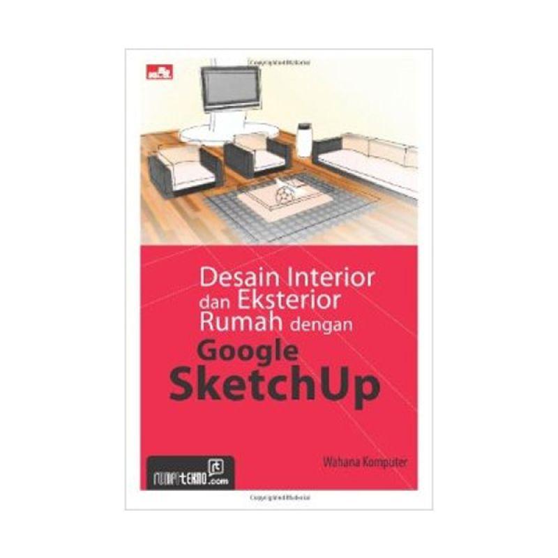 Grazera Desain Interior dan Eksterior Rumah by Wahana Komputer Buku Arsitektur