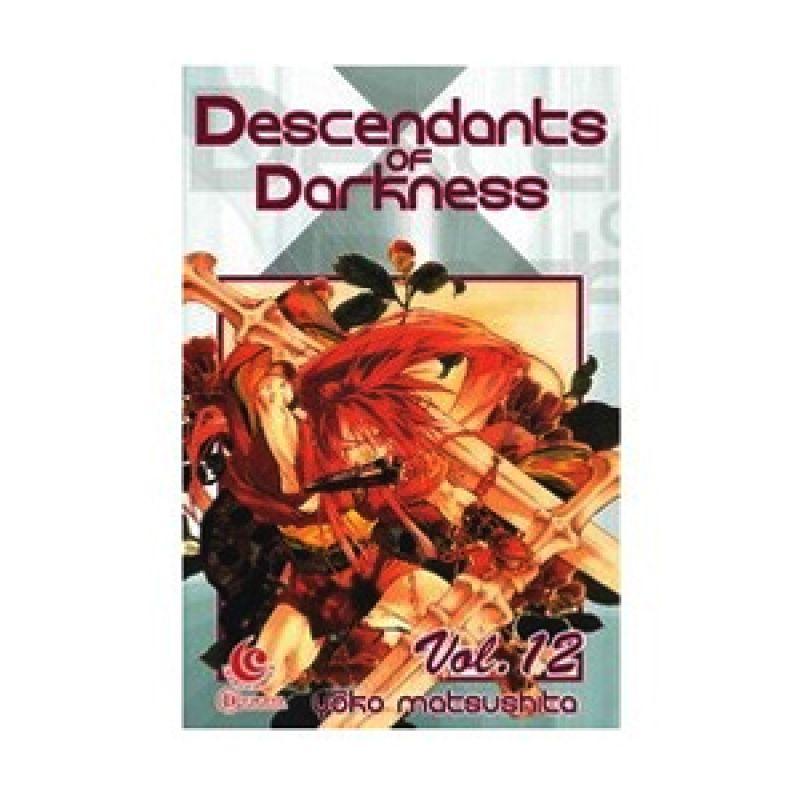 Grazera Descendant of The Darkness Vol 12 by Yoko Matsushita Buku Komik