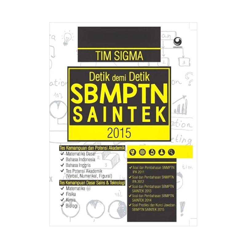 Grazera Detik Demi Detik SBMPTN Saintek 2015 oleh Tim Sigma (Muslihun/dkk) Buku