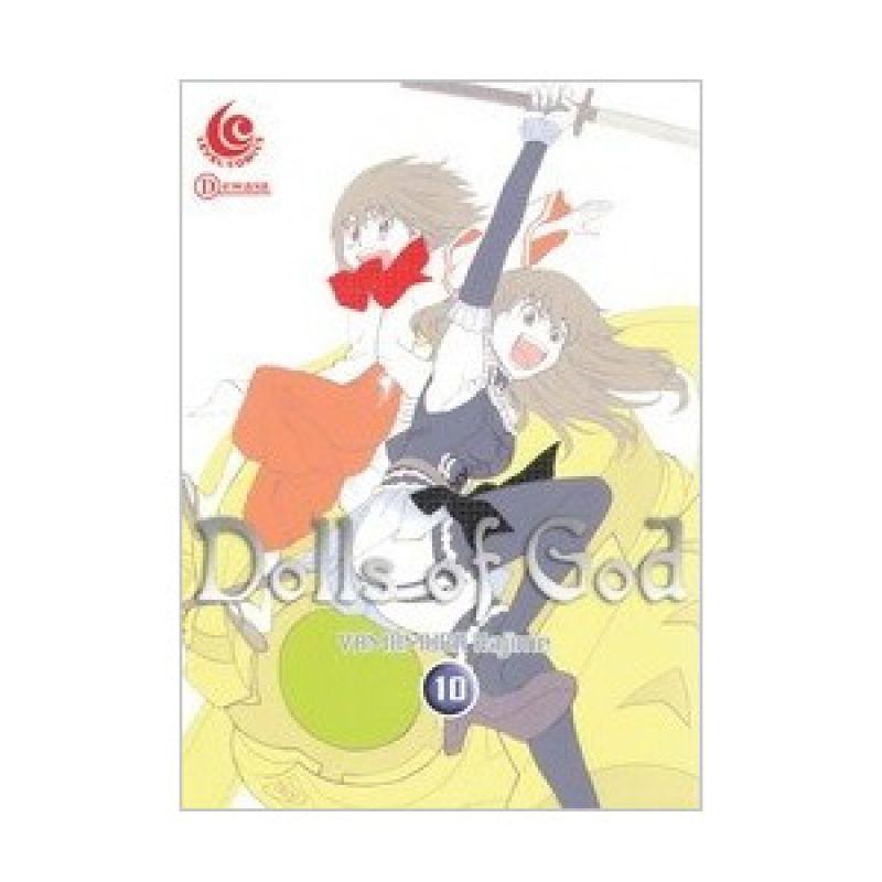 Grazera Dolls Of God Vol 10 by Yamamura Hajime Buku Komik