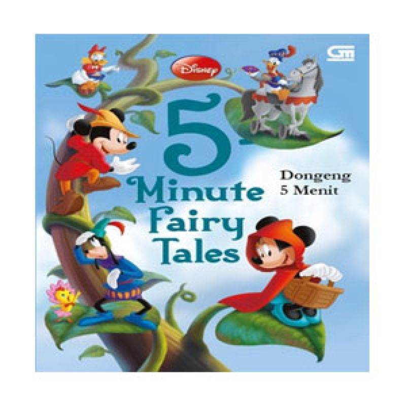 Grazera Dongeng 5 Menit by Disney Buku Fiksi