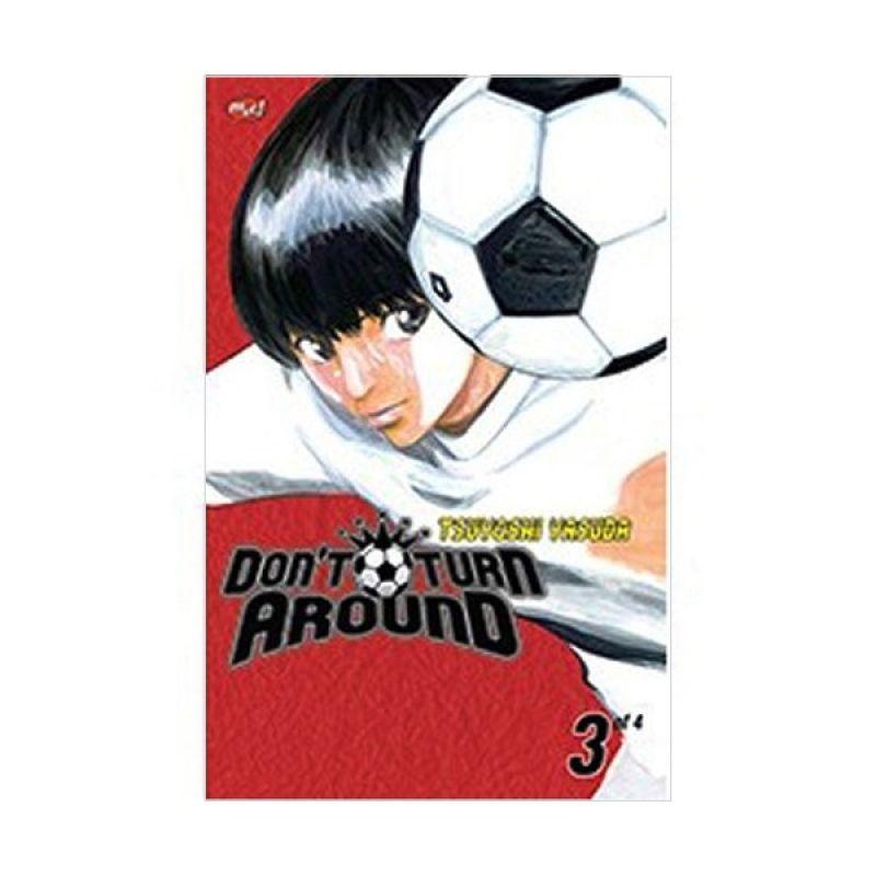 Grazera Dont Turn Around Vol. 03 By Tsuyoshi Yasuda Buku Komik