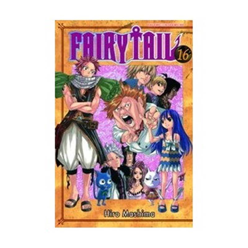 Grazera Fairy Tail Vol 16 by Hiro Mashima Buku Komik