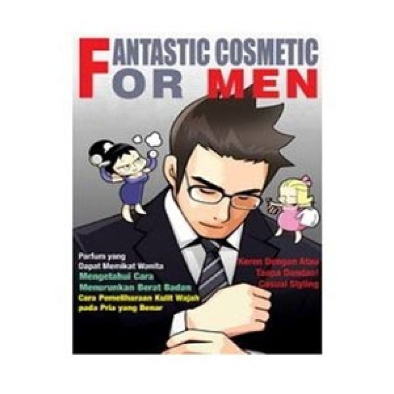 Grazera Fantastic Cosmetic For Men by Kim Mi-kyung Buku Fiksi