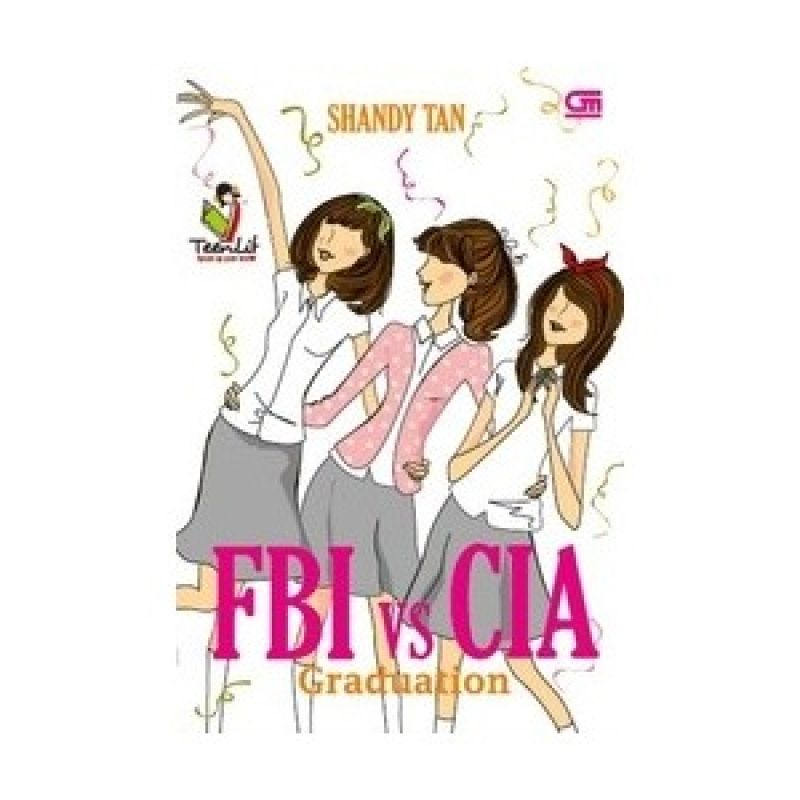 Grazera FBI VS CIA Graduation by Shandy Tan Buku Fiksi