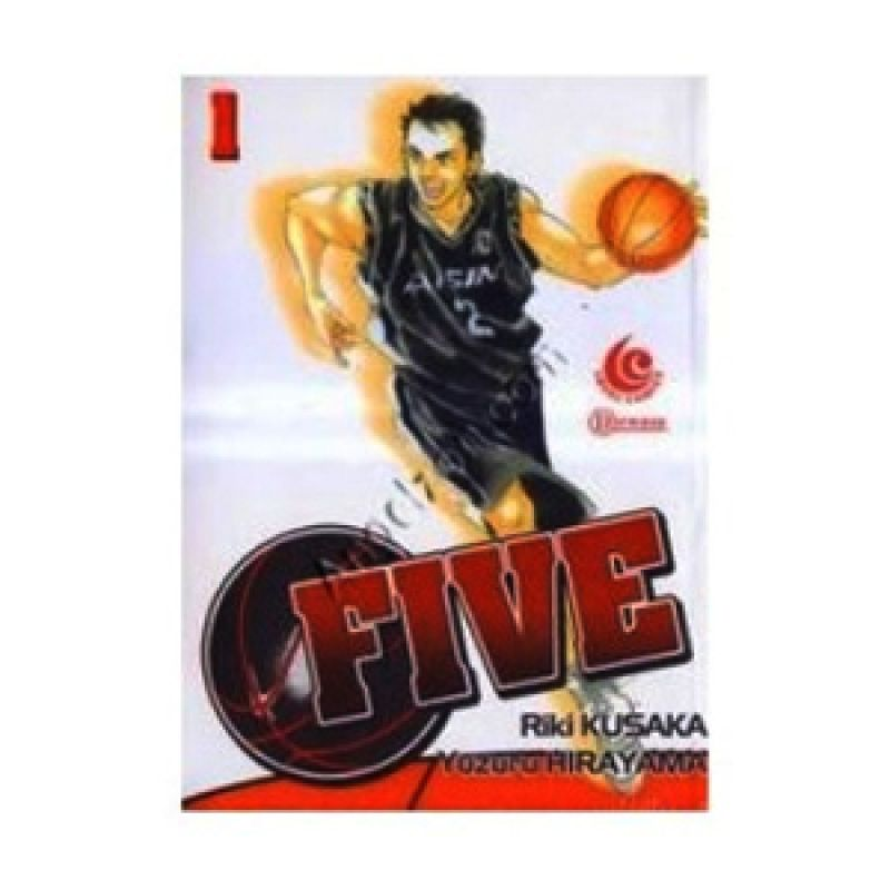 Grazera Five Vol 01 by Kusaka RIKI Buku Komik