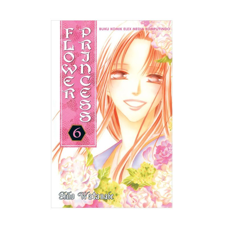Grazera Flower Princess Vol. 06 By Shiho Watanabe Buku Komik